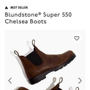 Nwt madewell blundstone  brown boots